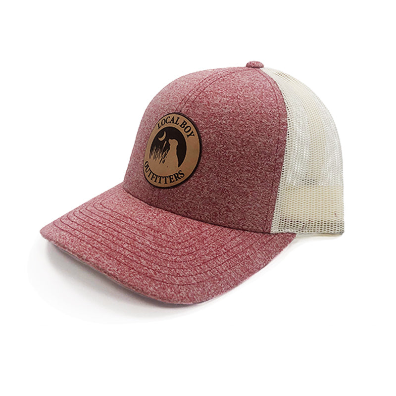LBO Leather Patch Hat