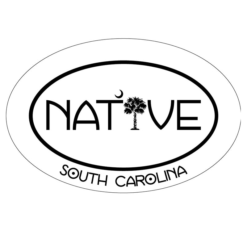 Native SC Oval Decal
