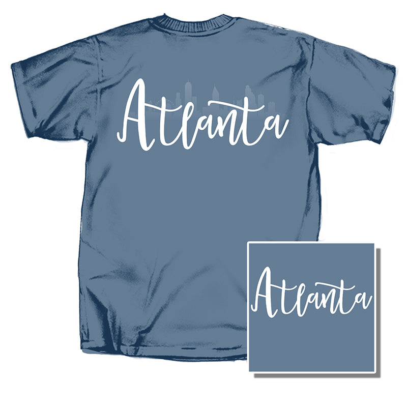 Atlanta Skyline Short Sleeve T-Shirt