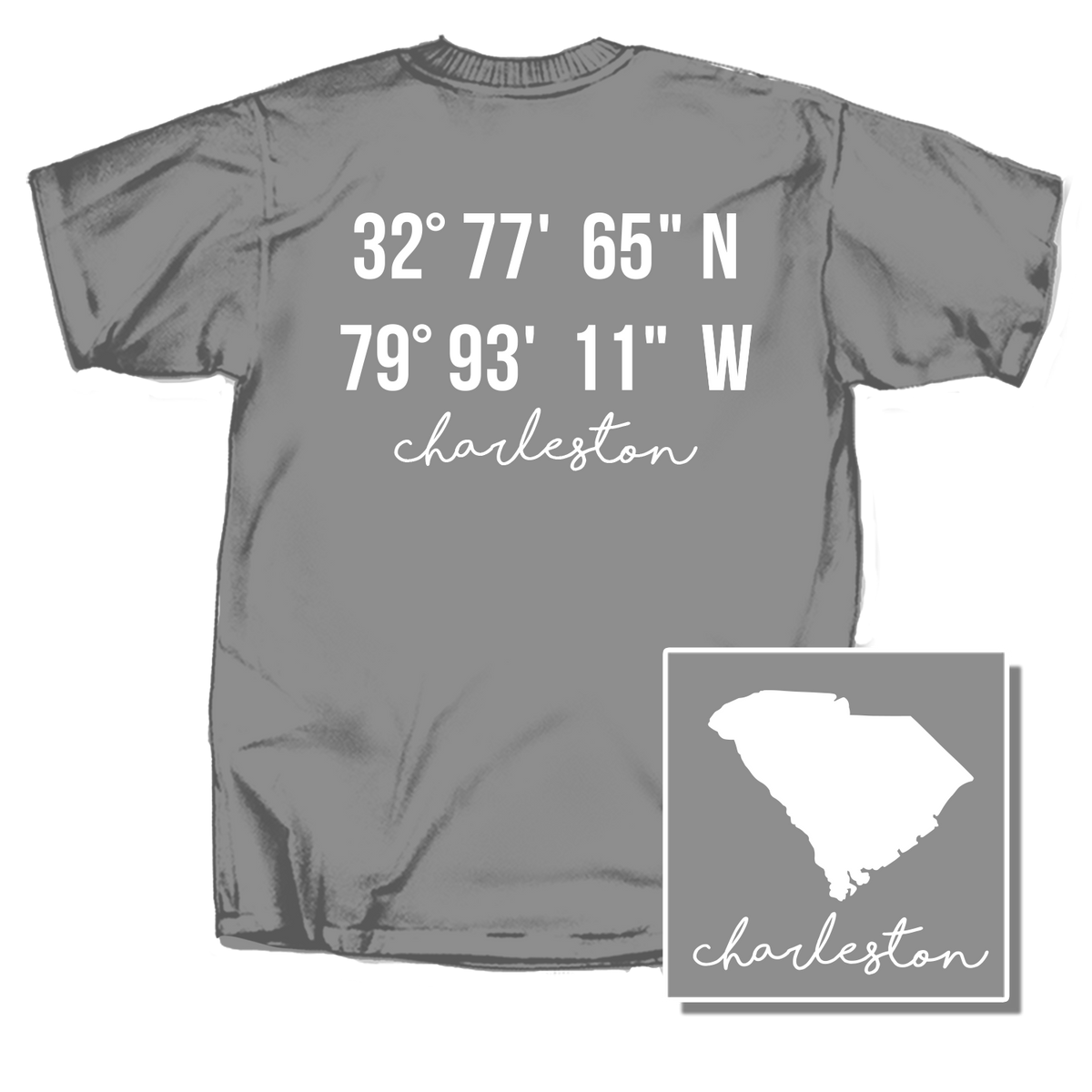Charleston Coordinates Short Sleeve T-Shirt