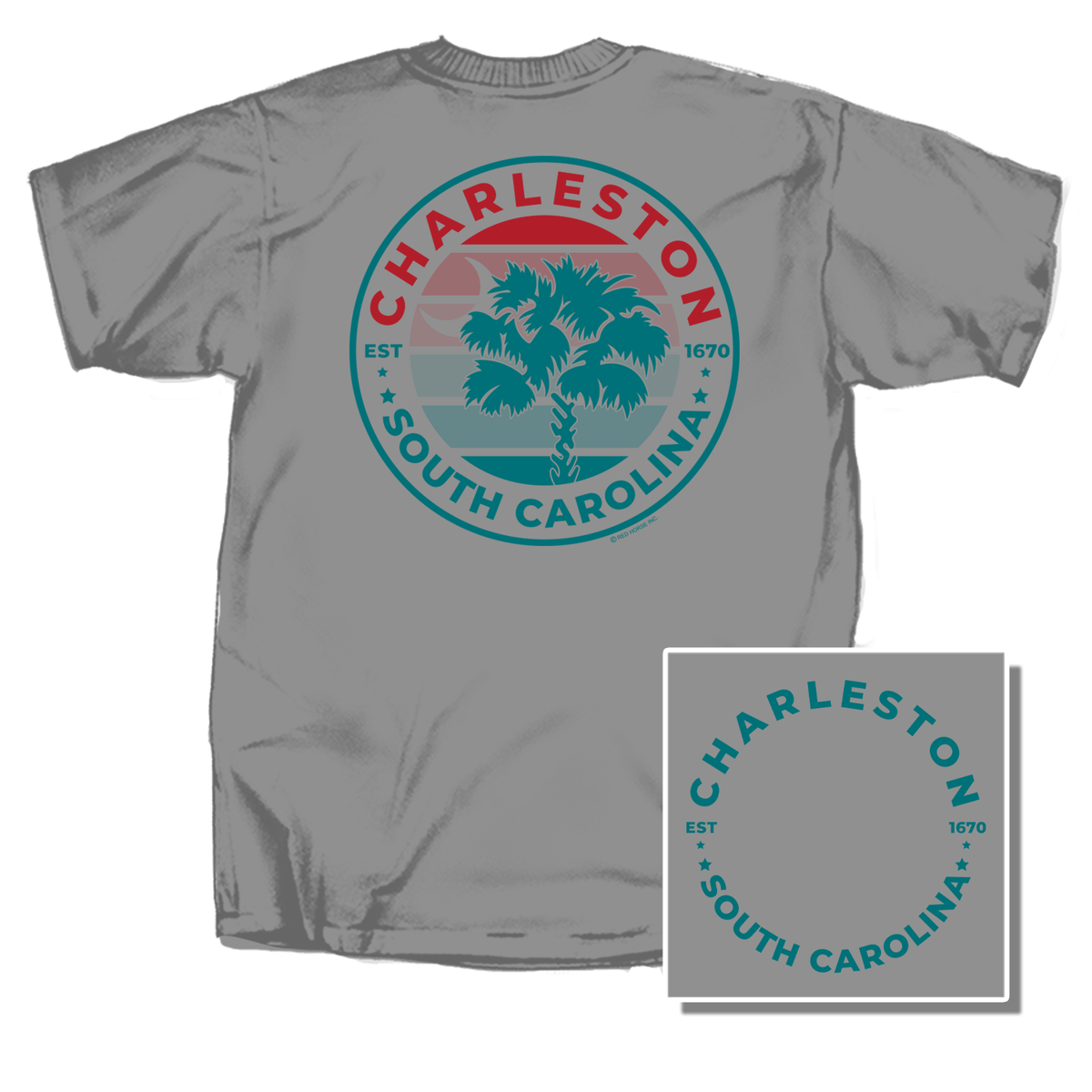 Charleston Coast Short Sleeve T-Shirt
