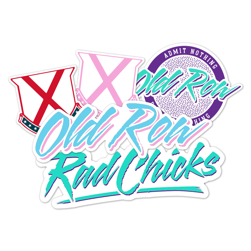 Rad Chick Decal Pack