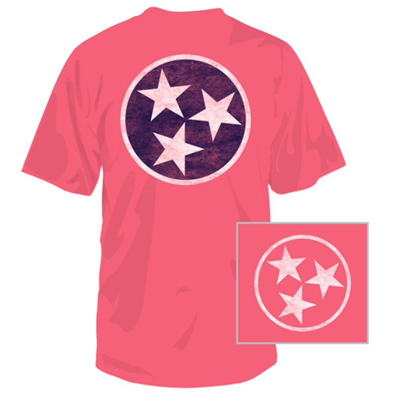 Tennessee Tri-Star Short Sleeve T-Shirt