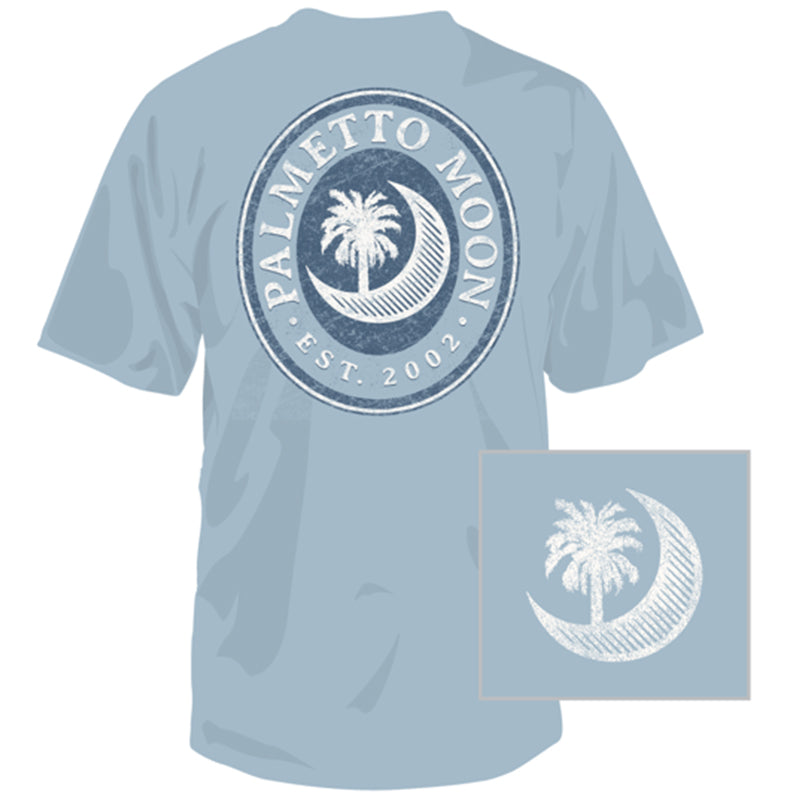 Palmetto Moon Oval Short Sleeve T-Shirt