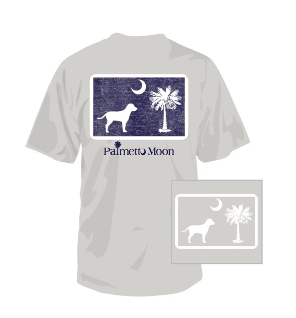Dog Pledge To The Moon Short Sleeve T-Shirt