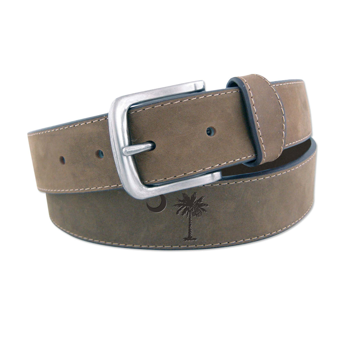 Palm Moon Embossed Belt