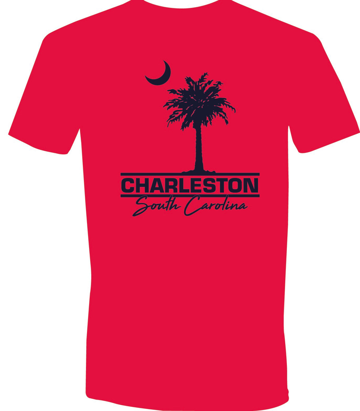 Charleston Palm Short Sleeve T-Shirt