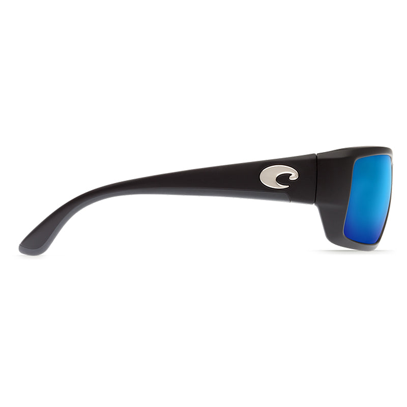Fantail Black Frames with Blue Mirror Lens 580P