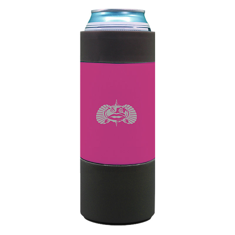 Non-Tipping Slim Can Cooler Pink