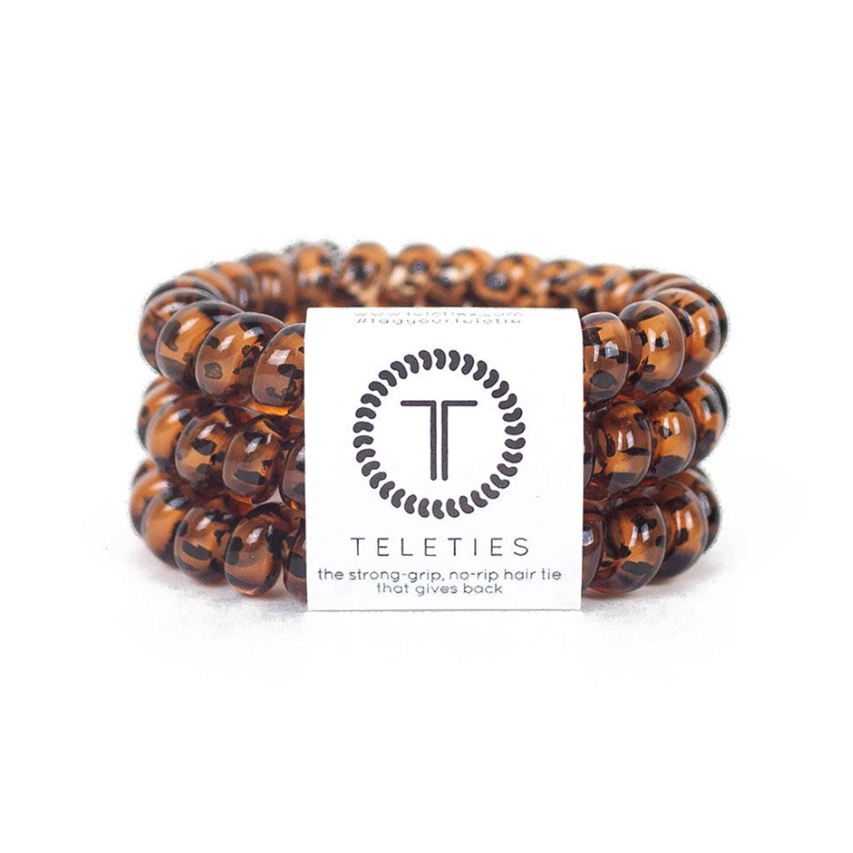 Tortoise Large Hair Tie 3 Pack