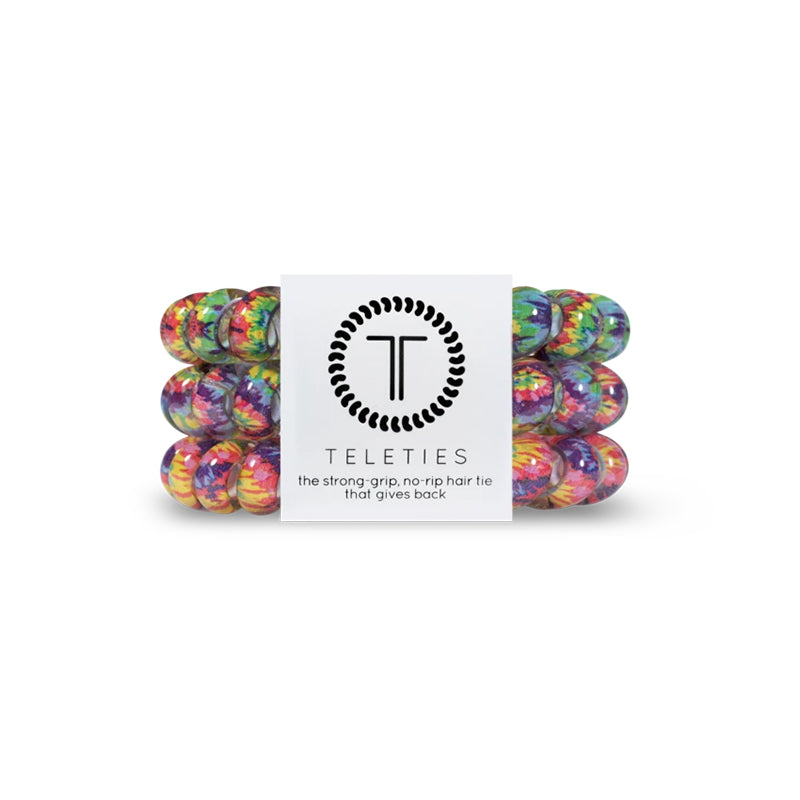 Psychedelic Large Hair Tie 3 Pack