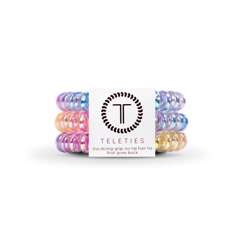 Eat Glitter for Breakfast Small Hair Tie 3 Pack