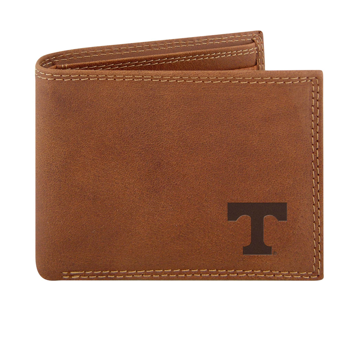 UT Embossed Leather Bifold