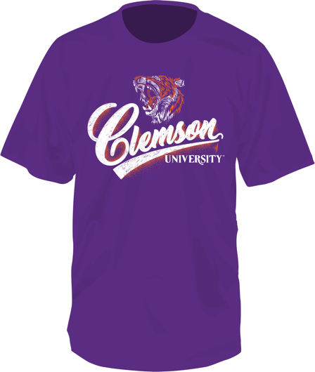 Clemson Ever In Our Eyes Short Sleeve T-Shirt