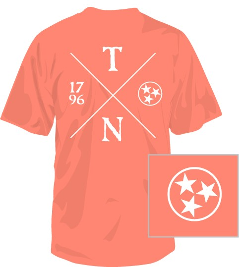 Tennessee Crossing Short Sleeve T-Shirt