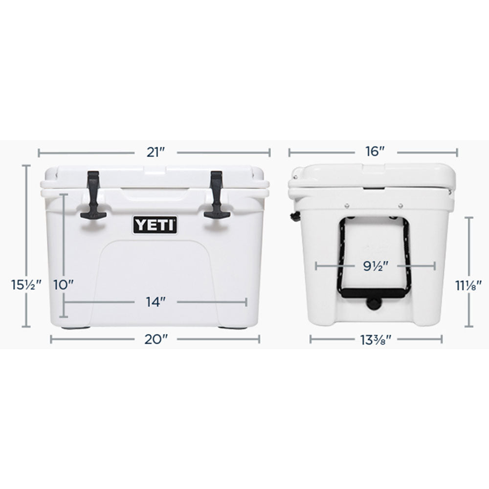 Tundra 35 White Cooler