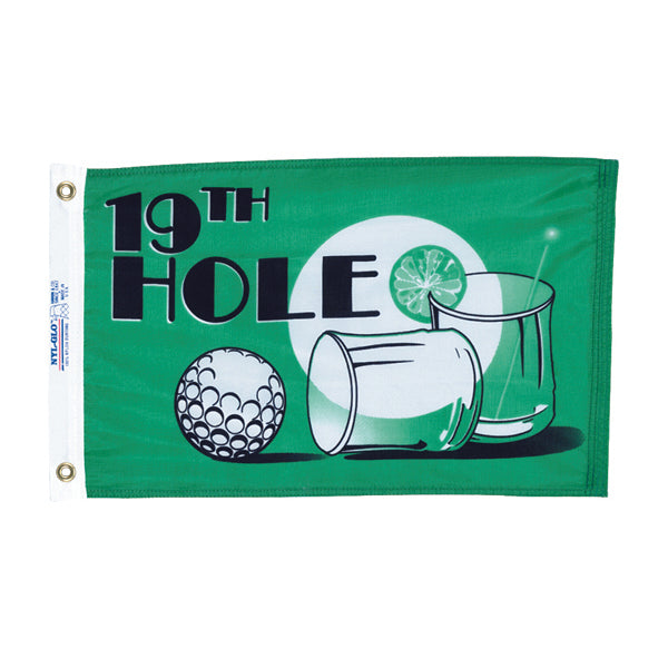 Fun 19th Hole Flag