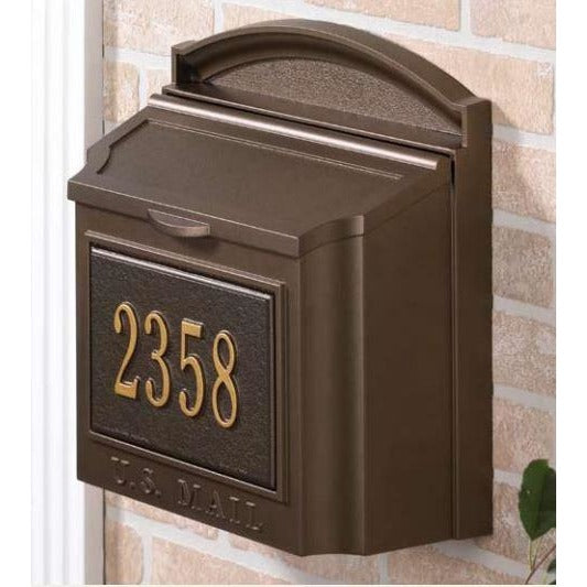 Wall Mount Classic Mailbox