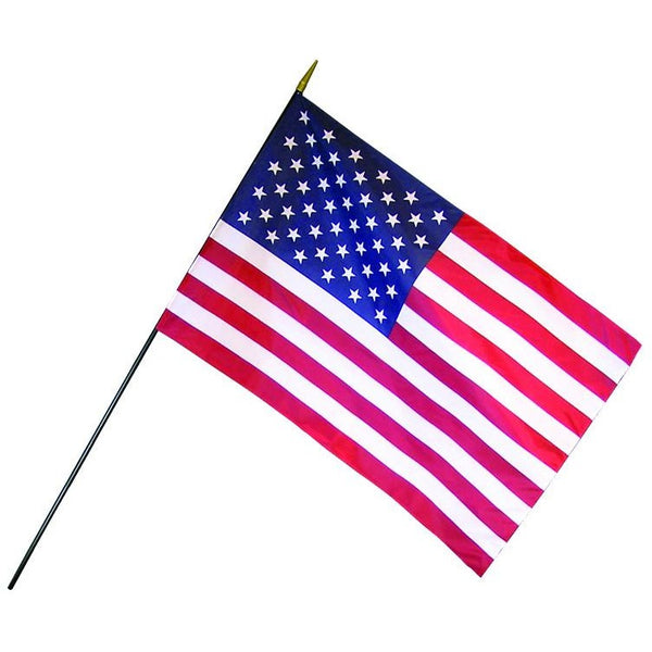 USA Flag W/ Staff