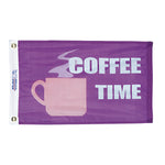 Fun Coffee Time Flag