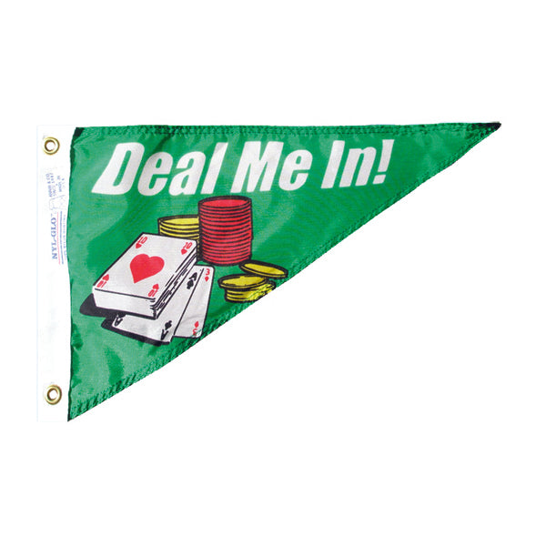 Personal Bow Pennant Deal Me In