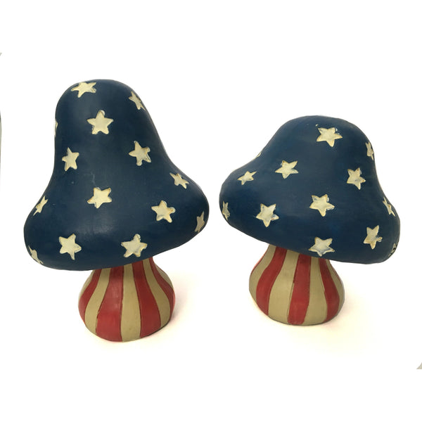 USA Themed Mushroom Knicknacks