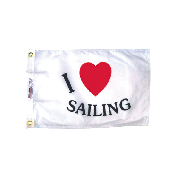 Fun I love Sailing Flag