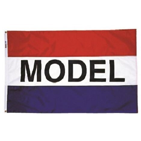 Horizontal Model Real Estate Attention Flag