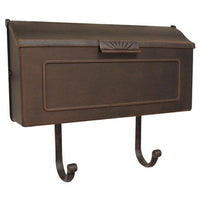 Wall Mount Horizon Mailbox