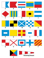 International Code of Signal Flags - SIZE 3