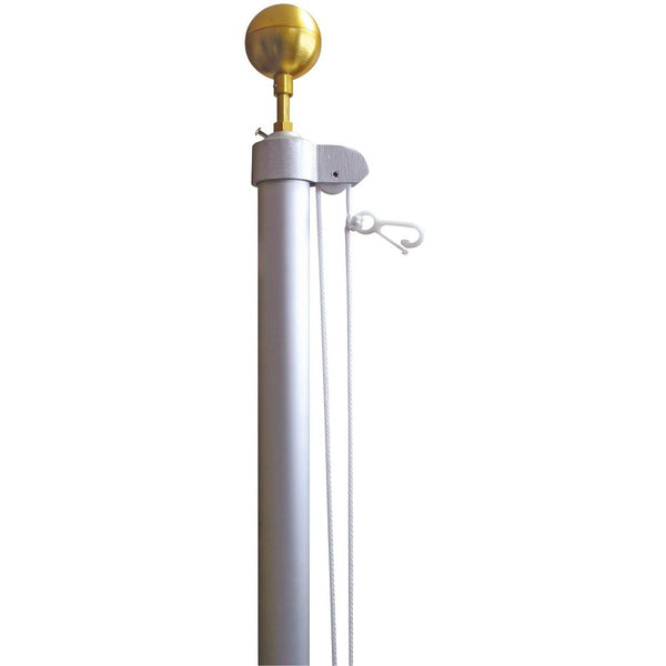 In-Ground Sectional Flagpole 15' - 20'