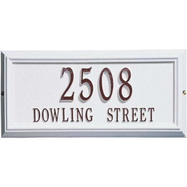 House Plaque Home Address