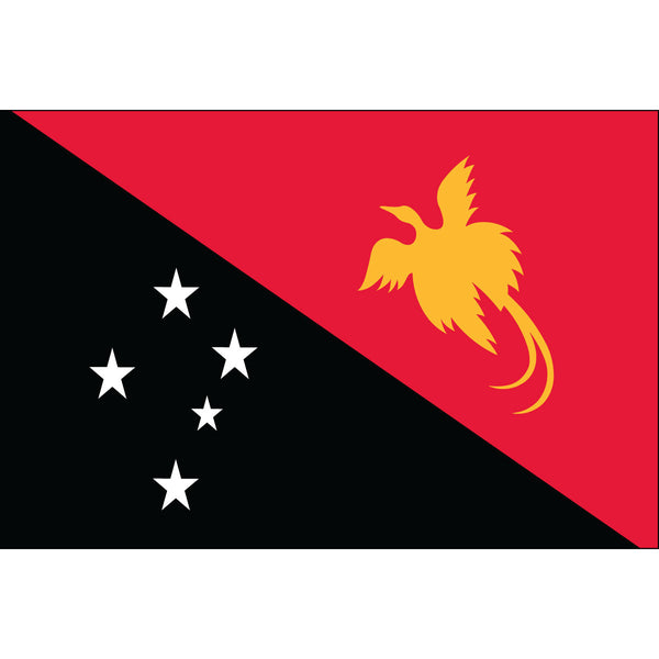 Papua-New Guinea Flag