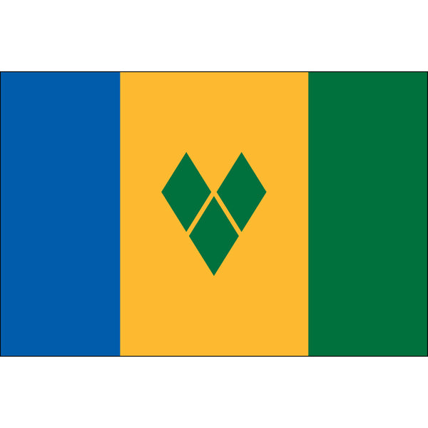 St. Vincent & Grenadines Flag