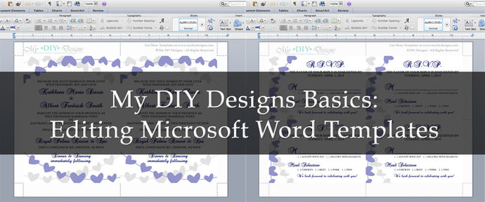 Editing Microsoft Word Templates