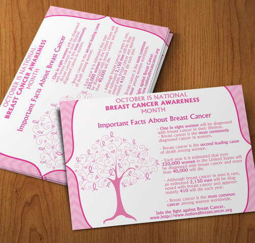 Microsoft Word Breast Cancer Awareness Flyer
