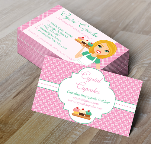 Microsoft Word Bakery Business Card Template
