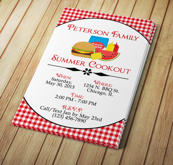 Microsoft word barbecue invitation template my diy designs microsoft word barbecue cookout invitation template pronofoot35fo Images