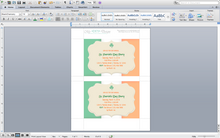 Microsoft Word St. Patrick's Day Flag Invitation Template