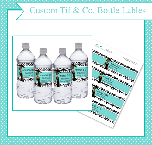 Tiffany & Co. Lady Bottle Label - Custom Editing - Creative By Design Group