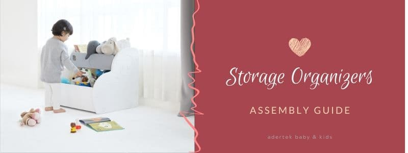 Assembly guide for Storage Organizers
