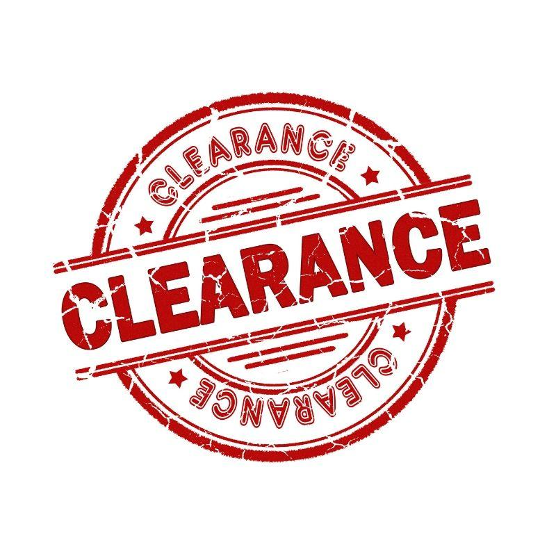 2020 Clearance Sales