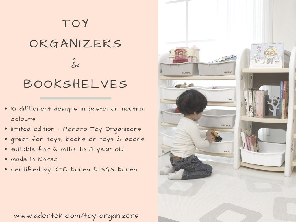 IFAM Toy Organizers - perfect solution to a messy play room