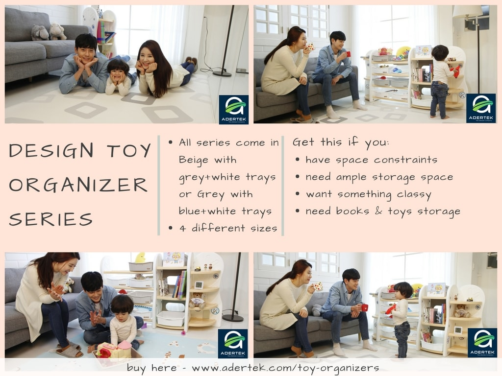Design Toy Organizer - 4 different configurations for different needs