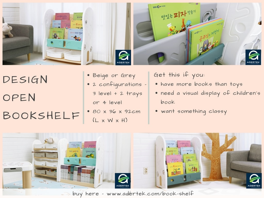 Design Open Book Shelf for the bookworms at home