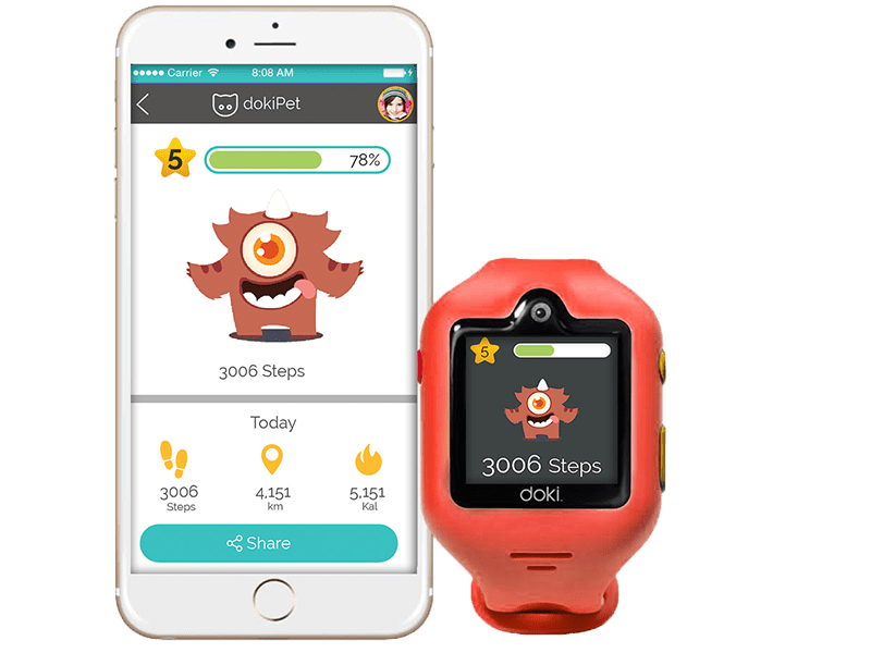 Fitness tracking for a fit and healthy child