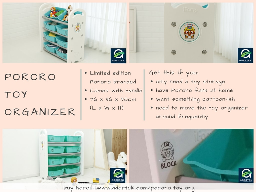 Pororo Toy Organizer - Limited Edition