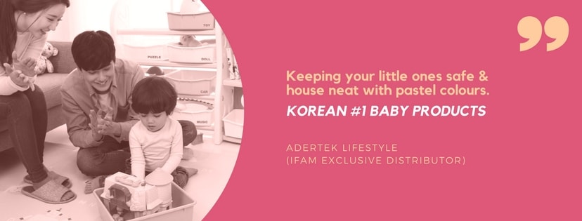 IFAM Korean No.1 Baby Products