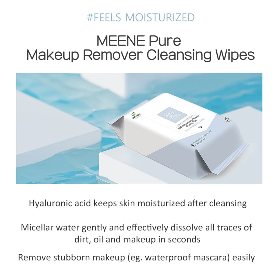 Menee Makeup Remover Wipes Product Highlights