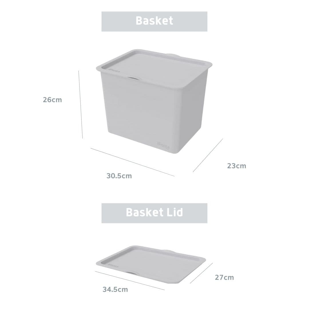 IFAM Toy Storage Box with Lid Dimension